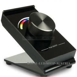 *RGB*, *Tisch*, *Controller*, *Drehknopf*, *schwarz*, *Batteriebetrieb*, *verk*