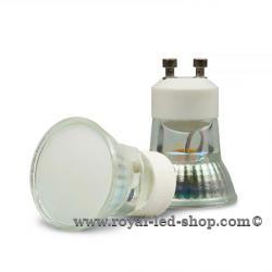 GU10 MINI-LED Spot 1,8W, 120°, frosted, warmweiss, EAN:9009377027932, 35287,