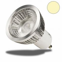GU10, LED Strahler, 5,5Watt COB, 38°, ultra-armweiß, dimmbar