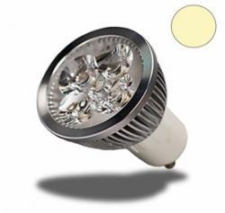 GU10 LED Spot, 4,8 Watt, dimmbar, warmweiss,*GU10*, *LED*, *G4*, *GU4*, *MR16*,