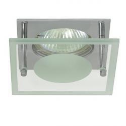 "Einbauspot ""NOMA"" MR16, Gx5,3 mit Glas teilsatiniert, chrom, LED, 9009377008979"