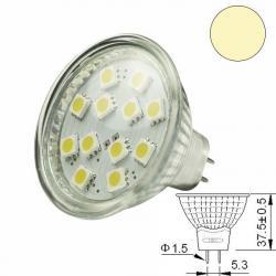 LED-Spotlight Strahler MR16 12SMD 2 Watt, warmweiss