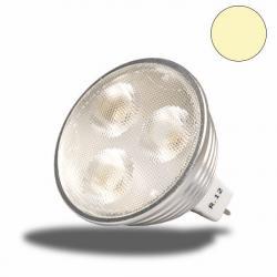MR16 LED-Spot Strahler GU5,3, 3x2 watt, warmweiss, dimmbar
